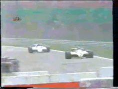 Nelson Piquet x Eliseo Salazar GP da Aleanha 1982 via GIPHY