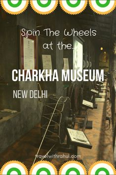 Do you know what is one of the many things that runs India? It's the Spinning Wheel which has been a symbol of progress, prosperity and freedom. So get ready to roll inside the 'Charkha' and weave good things apart from yarns and threads. #charkha #spinningwheel #spinning #spinningyarn #charkhamuseum #museum #delhimuseum #weirdmuseum #museumfun #museums #delhi #indianmuseum