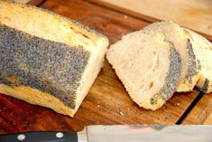 Langtidshævet brød - hæver natten over via Nutella, Danish Food, Cakes And More, Bread Baking, Cornbread, Bread Recipes, Catering, Oven, Food And Drink