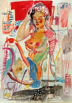 spanish_art_contemporary_painting-artistes_espagnols_peintres-merello.-mujer-mixed-media-paper.jpg