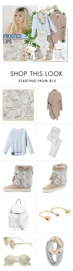 """Frosted Lips"" by molnijax ❤ liked on Polyvore featuring Harris Wharf London, McQ by Alexander McQueen, Tory Burch, Rebecca Minkoff, Chloé, Karen Walker, The North Face and Yves Saint Laurent"