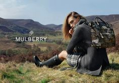 Start thinking about your fall looks with Cara Delevingne's new Mulberry campaign