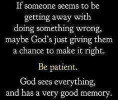 God has a very good memory. A recovery from narcissistic sociopath relationship abuse