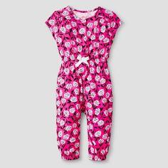 Target Baby Girl Clothes Baby Girls' Ruffle Romper  Baby Cat & Jack™ Fruit Print  Target