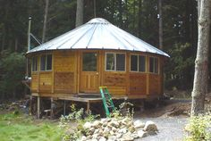 25' Yurt on lopez Island, wa so want to stay there