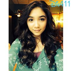 """Photo: Rowan Blanchard Looking Forward To """"Girl Meets World"""" Live Audience Taping March 25, 2014"""