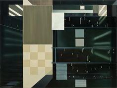 Enrico Bach - Ohne Titel, 2010, Öl auf Leinwand, 212 x 282 cm