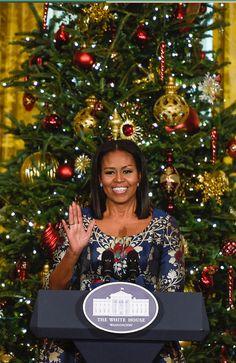 #FirstLady Of The United States Of America #MichelleObama November 2016