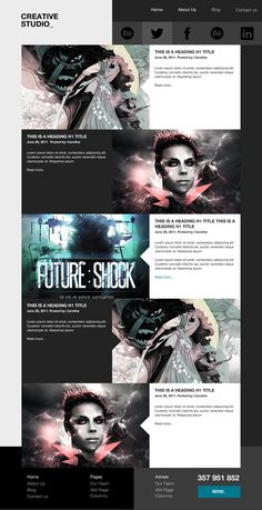 Theme_ Creative Studio on Web Design Served