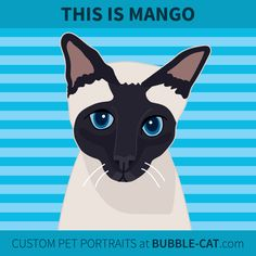 Custom Pet Portraits by Jen Kent at Bubble Cat. Illustrations done from photos of your pet, specializing in cats and dogs Bubble Cat, Cat Illustrations, Pet Portraits, Your Pet, Original Artwork, Dog Cat, Bubbles, Art Prints, Pets