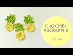 Easy Crochet Pineapple Tutorial - YouTube
