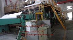 Copy paper A4 printing paper production line factory operation video