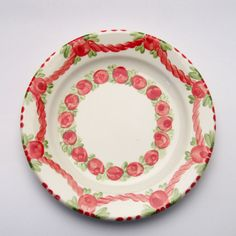 veruschka Plates, Tableware, Red, Green, Tablewares, Licence Plates, Dishes, Dinnerware, Griddles