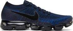 Buy and sell authentic Nike Air VaporMax Midnight Navy shoes and thousands of other Nike sneakers with price data and release dates. New Nike Shoes, Running Shoes Nike, Air Max Sneakers, All Black Sneakers, Sneakers Nike, Air Max 360, Navy Shoes, Nike Air Vapormax, Role Models