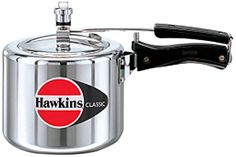 HAWKIN Classic CL3T 3-Liter New Improved Aluminum Pressure Cooker, Small, Silver >>> Details can be found by clicking on the image.