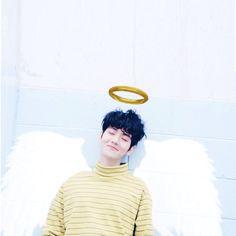 Angel Sehun ^ㅅ^ @Lularhnnn 29 thg 6 [CAP+EDIT] #BAEKHYUN #백현 Sleepy Angel