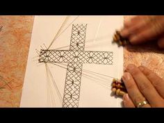 01# Croix (1) (LADENTELLEDELILA.WIFEO.COM) - YouTube Bobbin Lace Patterns, Cross Patterns, Lacemaking, Lace Heart, Lace Jewelry, Holidays And Events, Lace Detail, Tatting, Butterfly