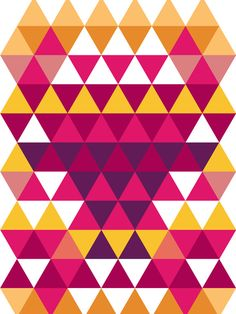 Colorful triangle pattern, perfect for smartphone covers, laptops, pillow design, mugs or rugs. Smartphone Covers, Triangle Pattern, Cool Backgrounds, Vector File, Pillow Design, Different Colors, Palette, Triangles, Graphic Design
