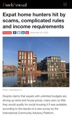 Dutch People, Household Income, Social Housing, House Prices, Being A Landlord, Home Buying, Amsterdam, Budgeting, News