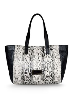 Marc By Marc Jacobs: Here's The T Snake Print Tote