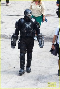 New Leaked Set Photos From Captain America: Civil War – First Look At Crossbones!