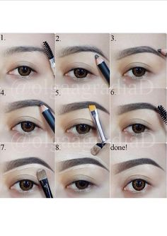 Easy way to fill in brows