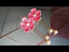 Bead Crochet, Crochet Earrings, Doll Tutorial, Crochet Flowers, The Creator, Hair Accessories, Jewellery, Bracelet, Beads
