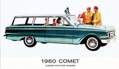 1960 Comet 2-Door Station Wagon