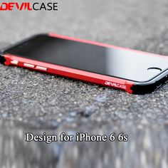 Cheap for iphone, Buy Quality for iphone 6 directly from China protective case Suppliers: DEVILCASE New TYPE X For iPhone 6 All Aluminum Hybrid Metal Bumper Frame Fashion Rose Gold Protective Cases CNC Cutout 6 Red Iphone 6, Apple Iphone, New Iphone, Cnc, Mode Rose, Cheap Phone Cases, Simple Mobile, Buy Phones, Latest Iphone