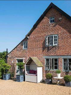 Exterior of 16th century Shropshire home
