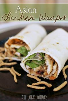 Asian Chicken Wraps | My Mommy Style