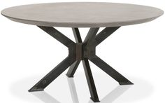 Spyder Round Dining Table, 55 Inch | Pegasus Tables And Rugs | Pinterest |  Round Dining Table, Tables And Room