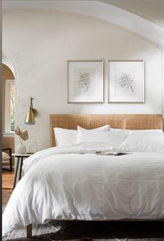 Magnolia Farms, White Bedding, All White, Comforters, Blanket, Furniture, Bedrooms, Home Decor, White Linen Bed