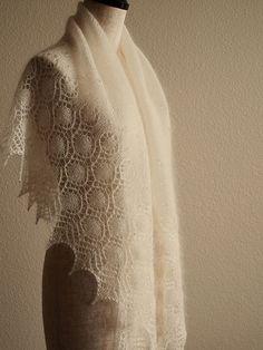 Ravelry: Dew Drops Shawl pattern by Bex Hopkins