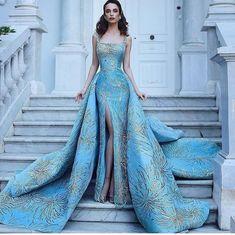 The dress speaks completely for itself.
