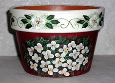 14 Wonderfully Artistic Hand Painted Flower Pots - Garden Lovers Club
