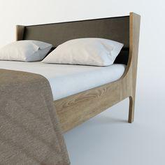 Кровать SON от HBMart - массив дуба с покрытием из льняного масла и пчелиного воска
