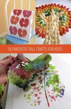 great fall craft ideas, simple and fun