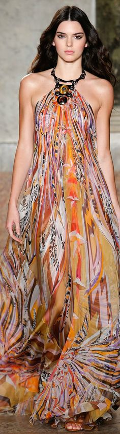 Emilio Pucci Spring 2015 Ready-to-Wear Collection