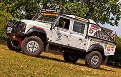 Land Rover Autocollants Camel Trophy Drôle 4x4 off road 2 x One Life Live It