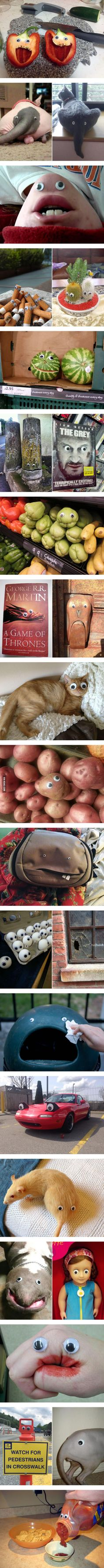Everything Is Better With Googly Eyes