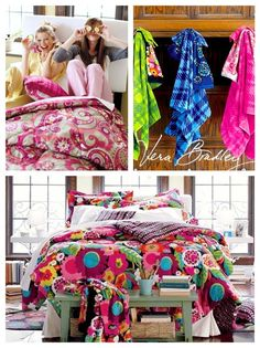 Vera Bradley Bedding and Dorm Accessories arrive at The Other Side Gifts June 28th!