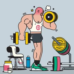 The People You'll Meet at the Gym by Rami Niemi — Agent Pekka
