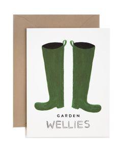 Wellies Card
