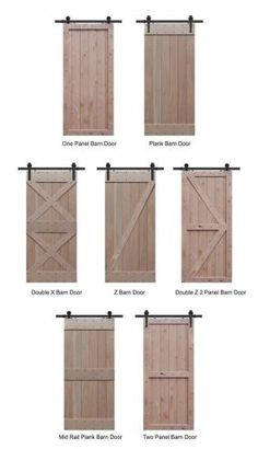 Tampa retail store for sliding barn door hardware and barn door track. Barn doors are interior doors that slide along a wall mounted track and have no hinges Barn Door Track, Farm Door, Building A Barn Door, 48 Inch Barn Door, Making Barn Doors, Barnyard Door, House Building, Building Design, Barn Door Designs