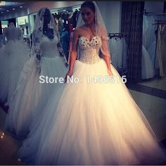 Cheap dress up cats dogs, Buy Quality dresses rompers directly from China dresses cute Suppliers: Welcome to Our StorePRD-W2 Gorgeous Ball gown Tulle Sweetheart Beaded Crystal vestidos de noiva 2014 wedding dress