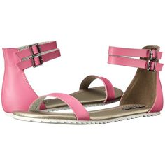 Michael Antonio Denous (Pink) Women's Sandals ($25) ❤ liked on Polyvore  featuring