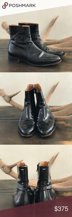 MAISON MARTIN MARGIELA LEATHER BOOTS MAISON MARTIN MARGIELA LEATHER BOOTS // excellent condition Maison Martin Margiela Shoes Ankle Boots & Booties