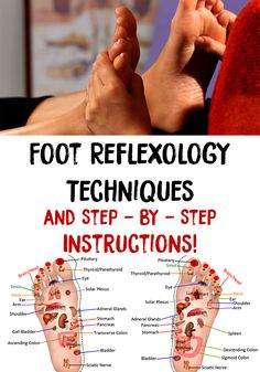 Foot reflexology is amazing, treats many problems and is very easy to learn it. Here are Foot Reflexology Techniques and Step by Step Instructions!