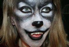 Resultado de imagen de maquillaje de lobo